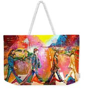Beatles Abbey Road  Weekender Tote Bag