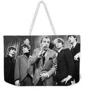 Beatles And Ed Sullivan Weekender Tote Bag