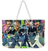 Beatles Fan Art Weekender Tote Bag