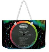 Beatles Revolver Rainbow Lp Label Weekender Tote Bag