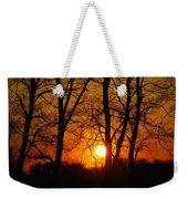 Beauatiful Red Sunset Weekender Tote Bag