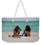 Beauties On The Beach Weekender Tote Bag