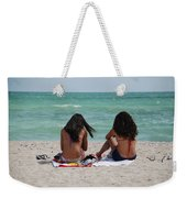 Beauties On The Beach Weekender Tote Bag