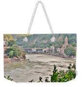 Beautiful Afternoon On The Ganges Weekender Tote Bag