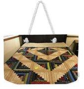 Beautiful Amish Quilt Weekender Tote Bag