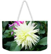 Beautiful And Fresh Dahlias In The Butchrt  Gardens,vancouver Island 2. Weekender Tote Bag