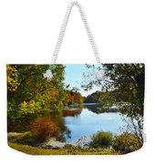 Willow Pond, Caleb Smith Preserve Weekender Tote Bag
