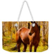 Beautiful Autumn Horse Weekender Tote Bag
