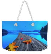 Beautiful Autumn Morning Weekender Tote Bag