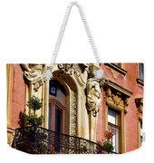 Beautiful Balcony In Austria Weekender Tote Bag
