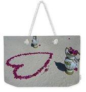 Beautiful Beach Still Life Weekender Tote Bag