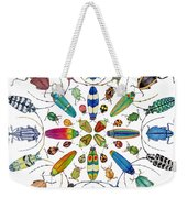Beautiful Beetles Weekender Tote Bag