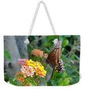 Beautiful Black Swallowtail Butterfly Weekender Tote Bag
