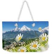 Beautiful Blooming Flower Panorama Weekender Tote Bag