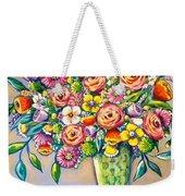 Beautiful Bouquet Weekender Tote Bag