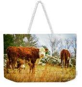Beautiful Bovine 2 Weekender Tote Bag