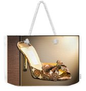 Beautiful Brocade Slippers For A Ball Weekender Tote Bag