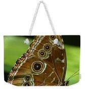 Beautiful Butterfly Wings Of Meadow Brown Weekender Tote Bag