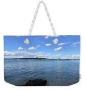 Beautiful Calm Ocean Water's In Casco Bay Maine Weekender Tote Bag