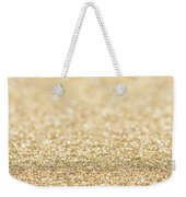 Beautiful Champagne Gold Glitter Sparkles Weekender Tote Bag
