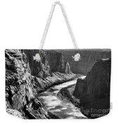 Beautiful Colorado River Page Arizona Blk Wht  Weekender Tote Bag