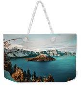Beautiful Crater Lake Weekender Tote Bag