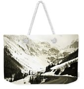 Beautiful Curving Drive Through The Mountains Weekender Tote Bag