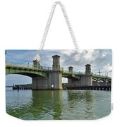 Beautiful Day At The Bridge Of Lions Weekender Tote Bag