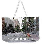 Beautiful Downtown Hoboken  Weekender Tote Bag