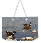 Beautiful Ducks Weekender Tote Bag