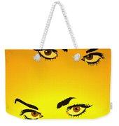 Beautiful Eyes Weekender Tote Bag