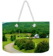 Beautiful Farm In Windsor Forks Weekender Tote Bag