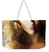Beautiful Fashion Model Weekender Tote Bag by Jorgo Photography - Wall Art Gallery
