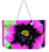 Beautiful Flower Weekender Tote Bag by Annette Allman