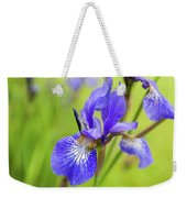 Beautiful Flower Iris Weekender Tote Bag