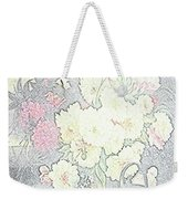 Beautiful Flower Sketch  Weekender Tote Bag