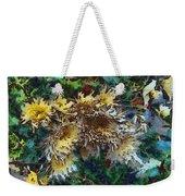 Beautiful Flowers In A Group Weekender Tote Bag