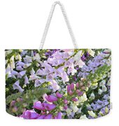 Beautiful Foxglove Weekender Tote Bag