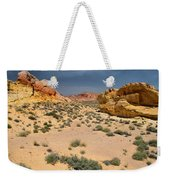 Beautiful Hiking In The Valley Of Fire Weekender Tote Bag