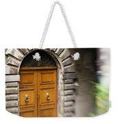 Beautiful Italian Doorway Weekender Tote Bag