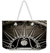 Beautiful Italian Metal Scroll Work 2 Weekender Tote Bag