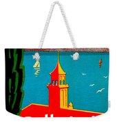 Beautiful Italy, Lake Garda, Riviera Weekender Tote Bag