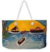 Beautiful Lake Weekender Tote Bag