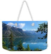 Beautiful Lake Minnewanka Weekender Tote Bag