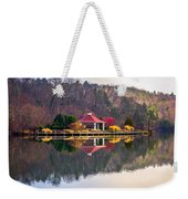 Beautiful Landscape Near Lake Lure North Carolina Weekender Tote Bag