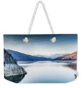 Beautiful Landscape Of The Lake Vidraru Romania Weekender Tote Bag