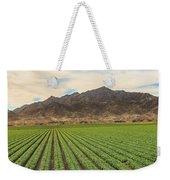 Beautiful Lettuce Field Weekender Tote Bag