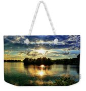Beautiful Light Of The Golden Hour Weekender Tote Bag