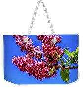 Beautiful Lilac Weekender Tote Bag