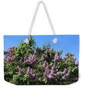 Beautiful Lilacs Day Weekender Tote Bag